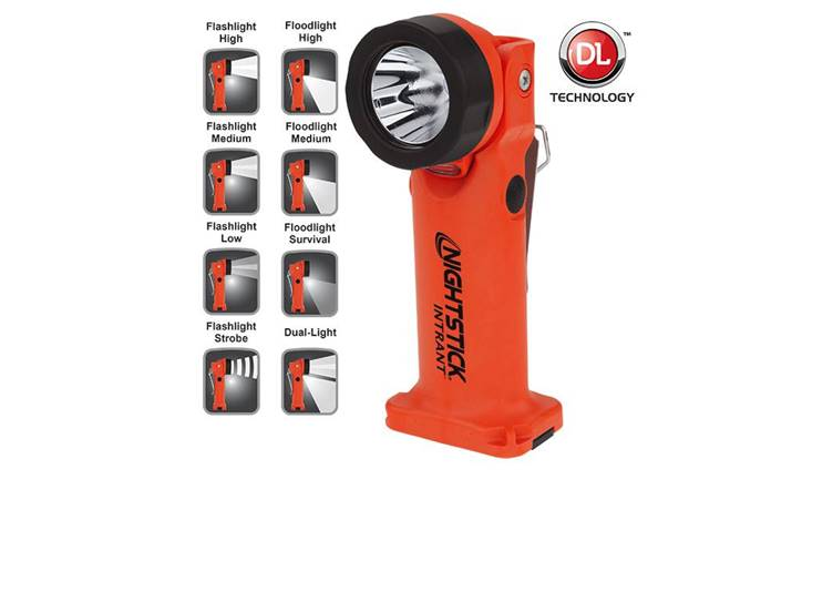 Nightstick Intrant Duo Hoeklamp ATEX Zone 0